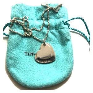 Tiffany's heart charm necklace
